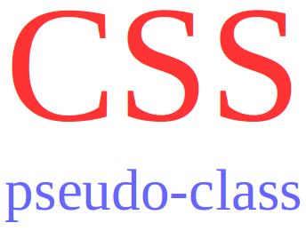mengenal pseudo class css