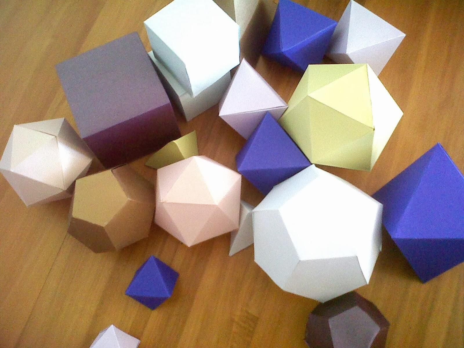 DIY geometric shapes