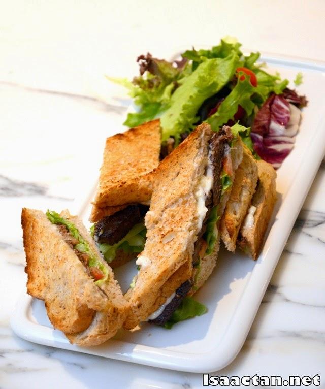 #1 Beef Sandwich - RM28