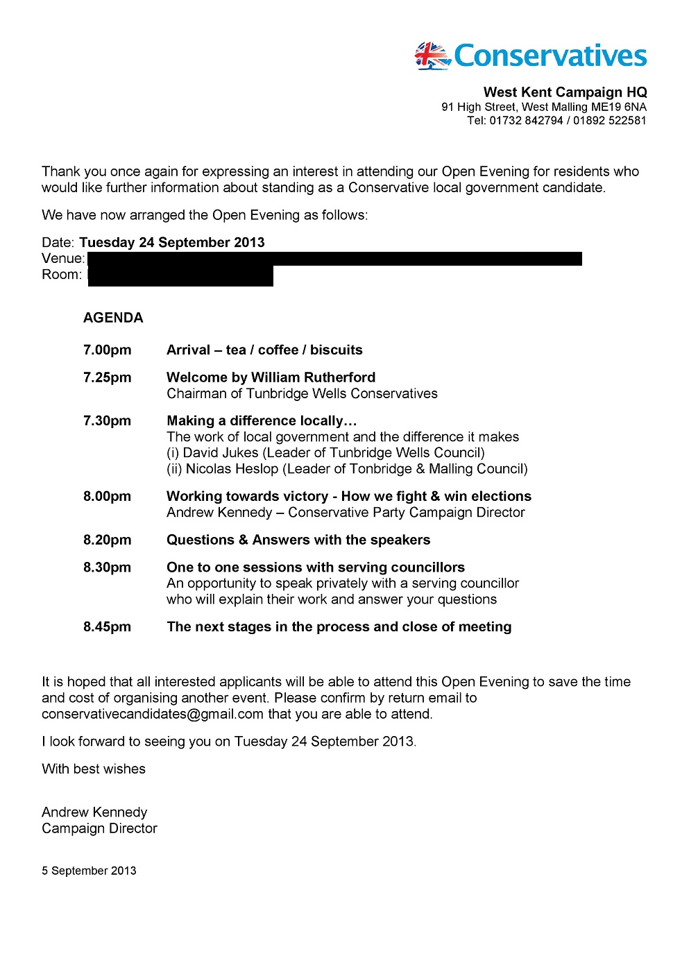 Invitation letter sample venue image collections invitation invitation letter sample venue diary of a conservative party agent local government candidate following the open evening applicants who wish stopboris
