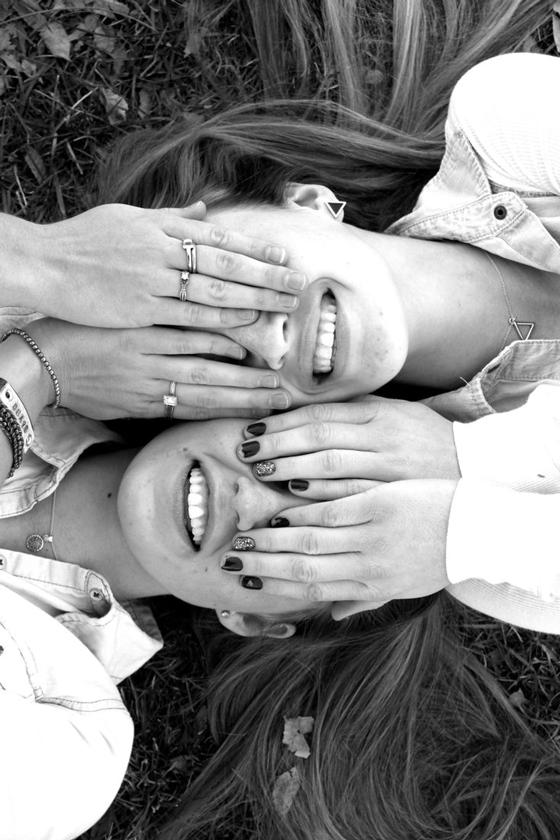 smile, friends, best, girls