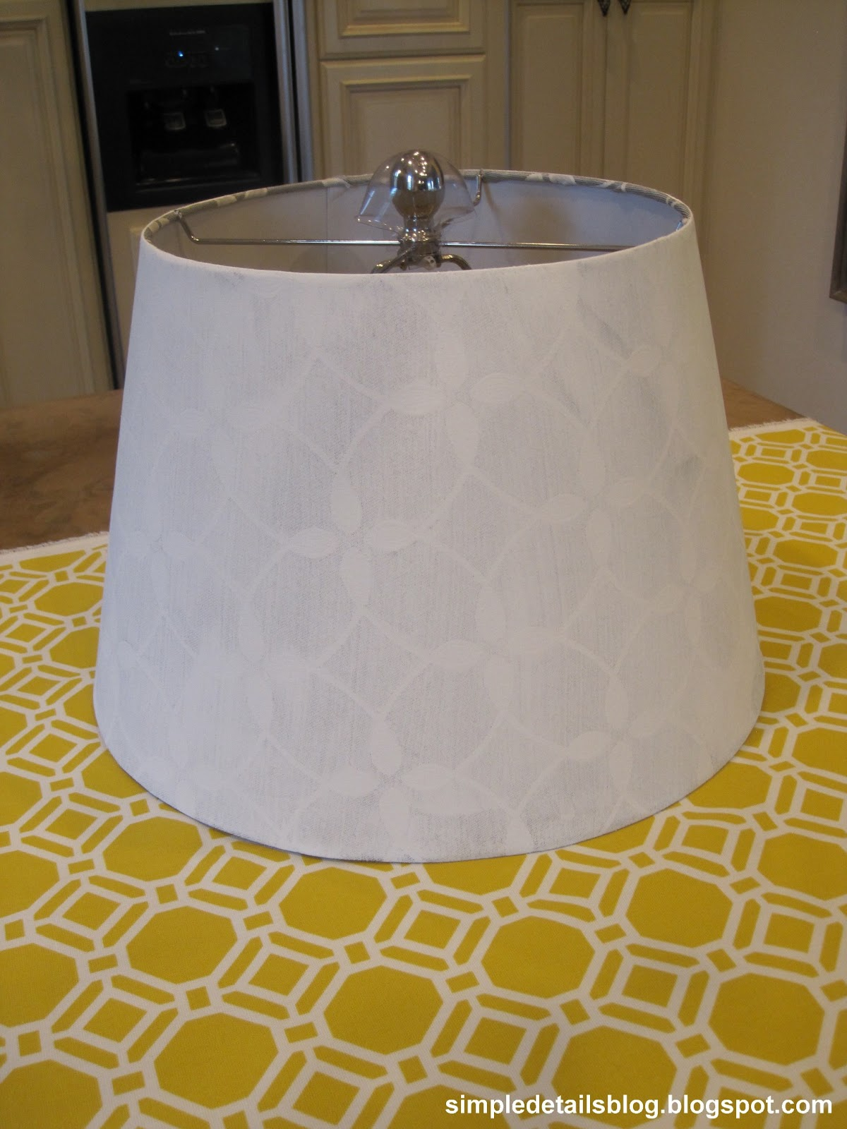 Simple details how to cover a tapered lamp shade how to cover a tapered lamp shade mozeypictures Gallery
