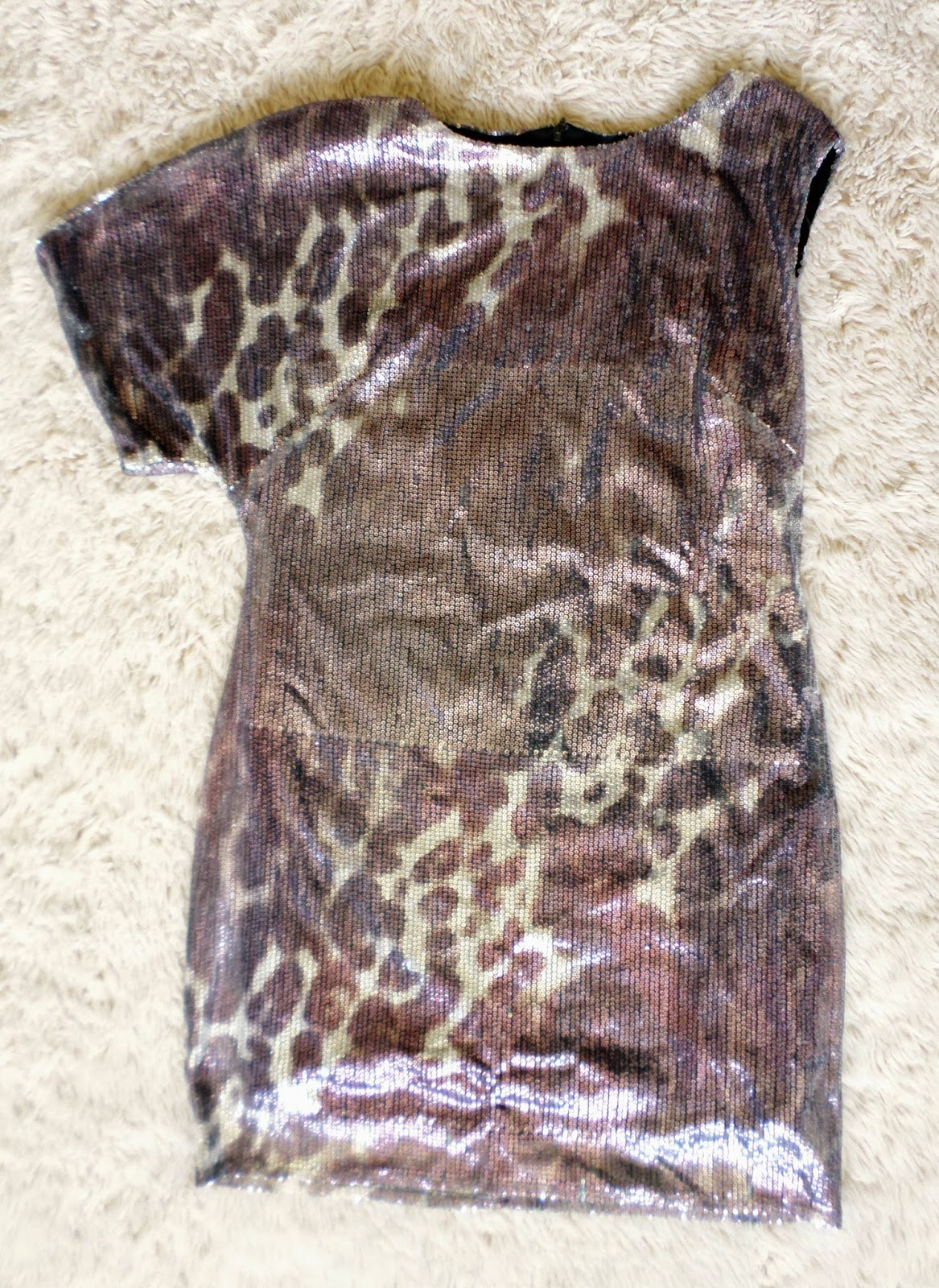 Dorothy Perkins Leopard Print Sequin Dress Car Boot Booty Thrift Haul #3