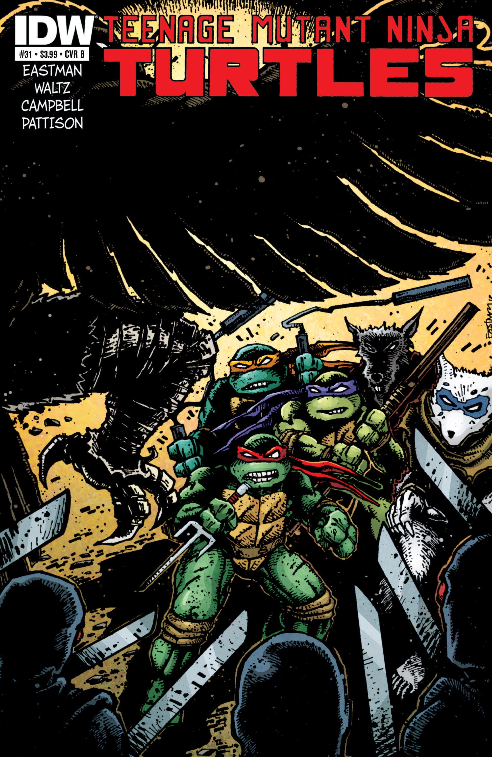 Read online Teenage Mutant Ninja Turtles (2011) comic -  Issue #31 - 2