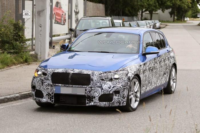 Makyajli 2015 BMW 1 Serisi