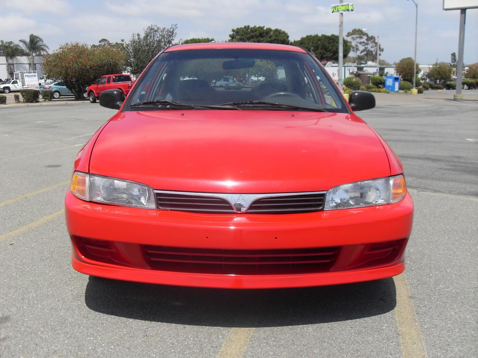 [2000] Mitsubishi - Mirage DE (Red) | T-TAK Auto Service