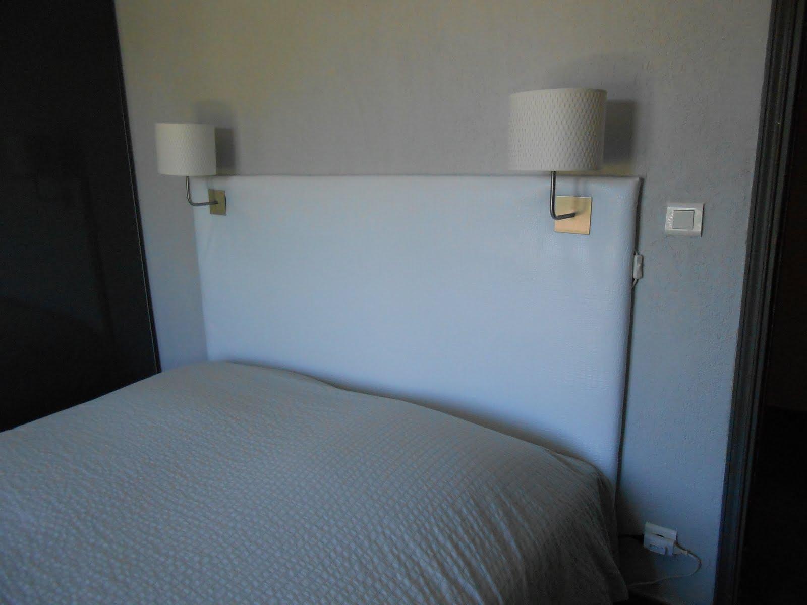 charmant fabriquer tete de lit tissu 8 bien 4 mois. Black Bedroom Furniture Sets. Home Design Ideas