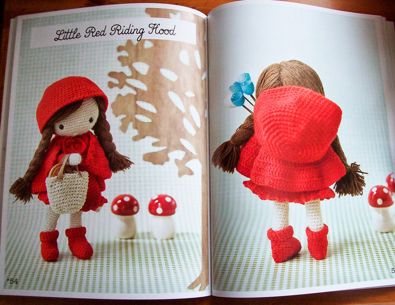 Amigurumi Doll Pattern Book : Sewing is for girls book review my crochet doll by isabelle
