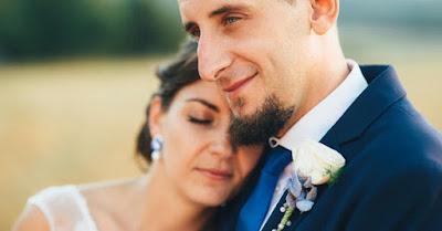 chabrowy komplet ślubny sutasz z perłami