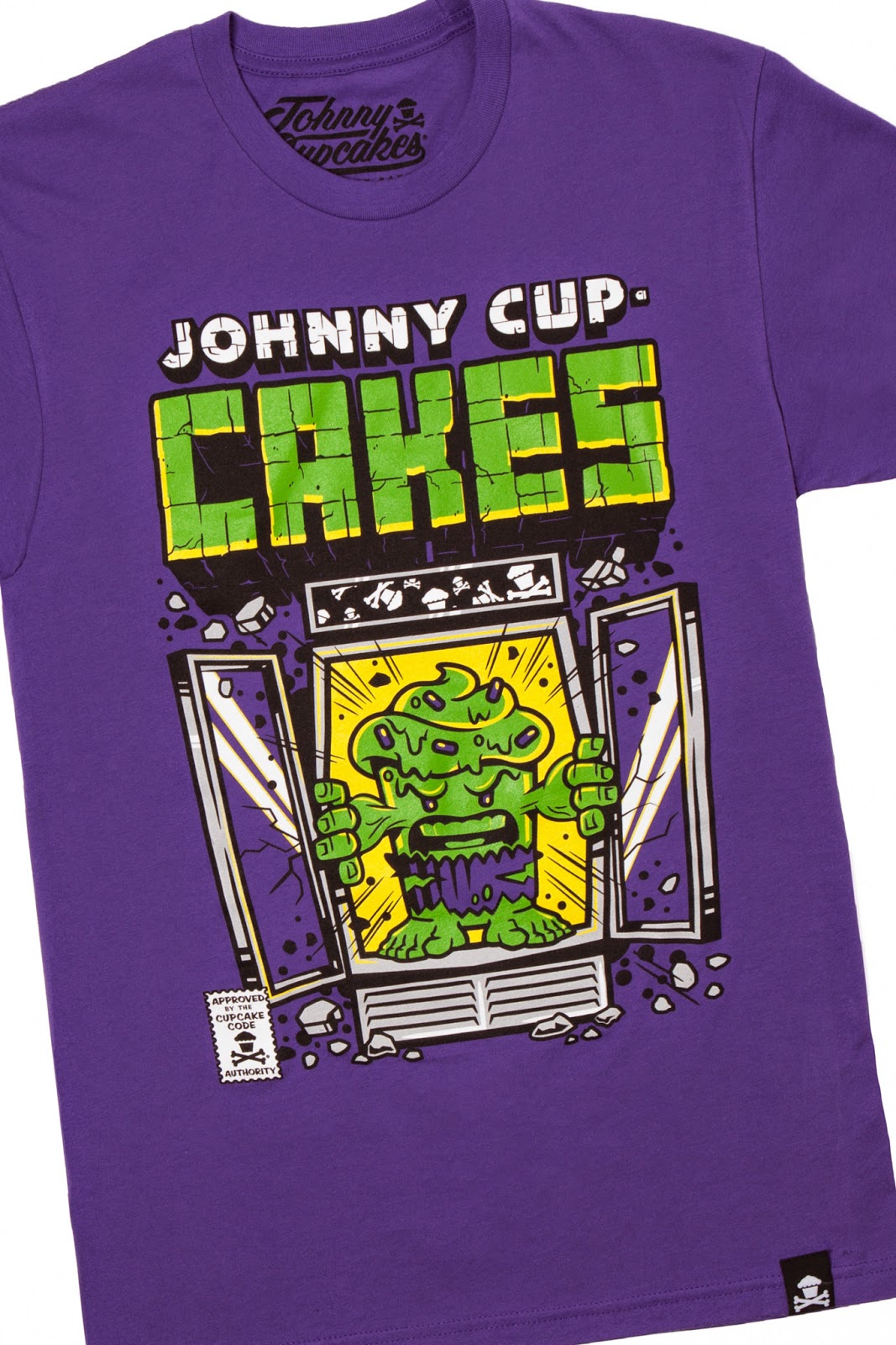 "Johnny Cupcakes  x The Incredible Hulk ""Cake Smash"" T-Shirt"