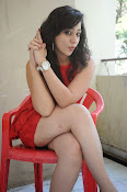 Saba Saudagar Glam photo shoot in red-thumbnail-15