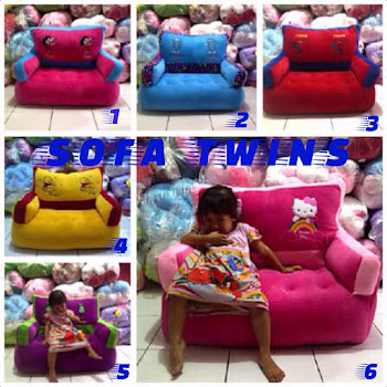 SOFA TWINS JUMBO - PUSAT GROSIR SOFA