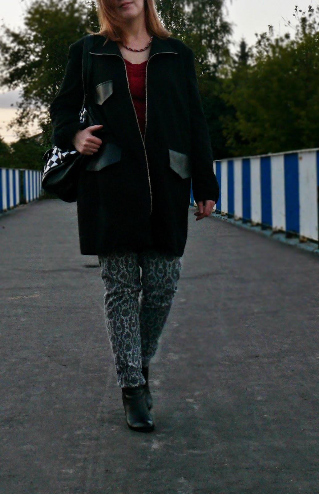 jesienny płaszcz na codzień