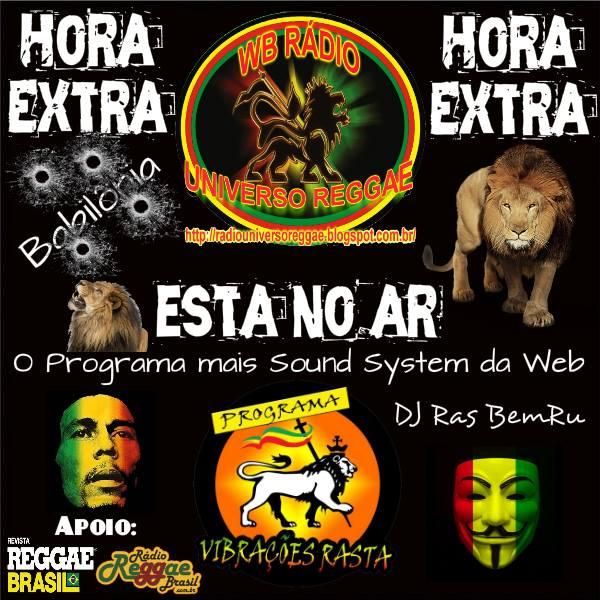 Programa Vibrações Rasta! DJ Ras BemRu Jatobá!