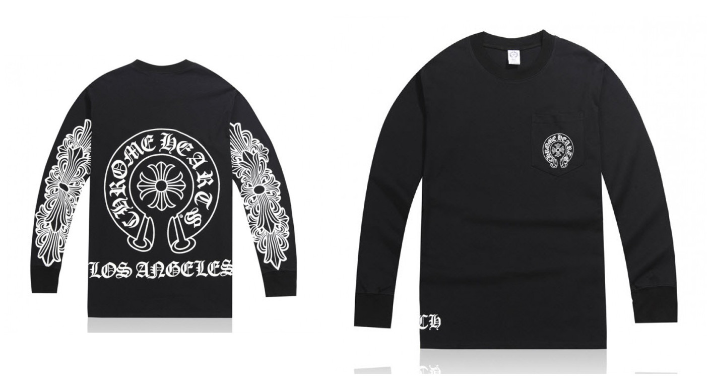 5def29ee93b2 Classic Chrome Hearts Long Sleeves T-shirts