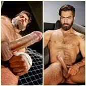 Adam é barbudo loiro super tesudo - que macho!