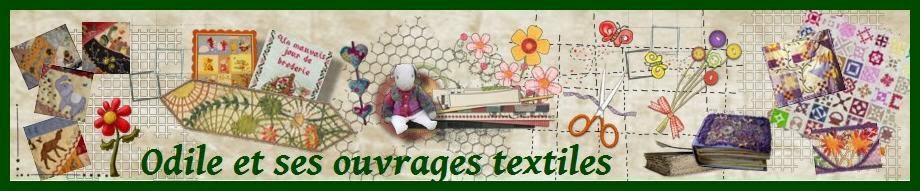 odile et ses ouvrages textiles