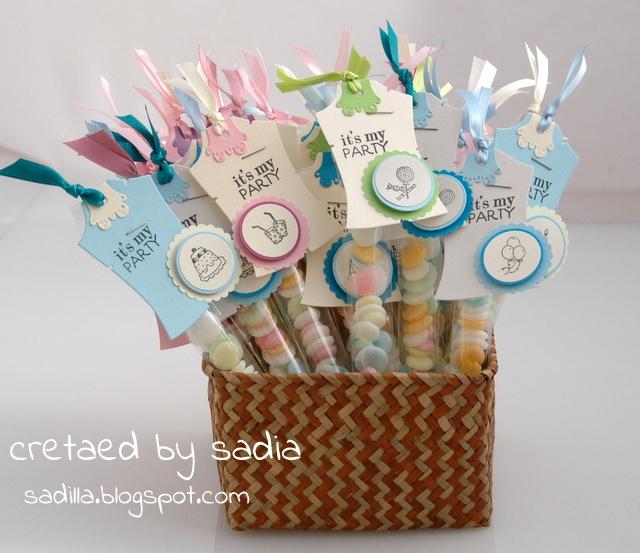 Popolare Sadilla's Blog: Caramelline e card per un compleanno! CT67