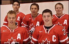 2008 U-18 Gold Medal - Captain Duchene