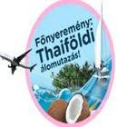 Thaiföldi utazás nyeremény