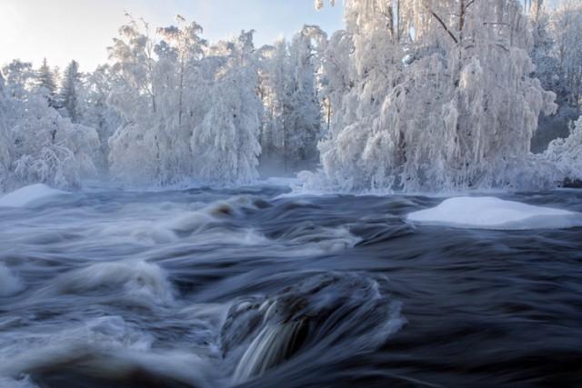 Kuusaankoski, Laukaa, Finland - 19 Breathtaking Photos Of Winter Wonderlands Around The World