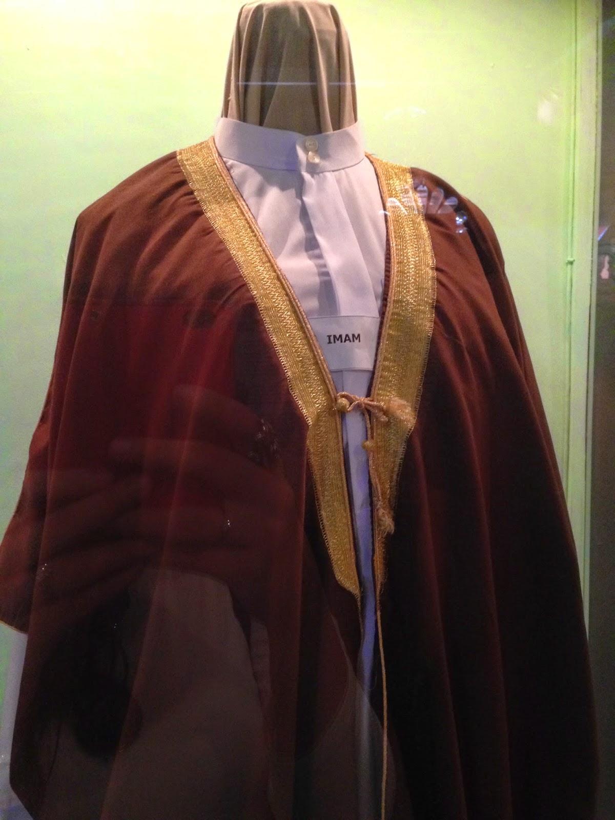 Imam costume in Muzium Islam