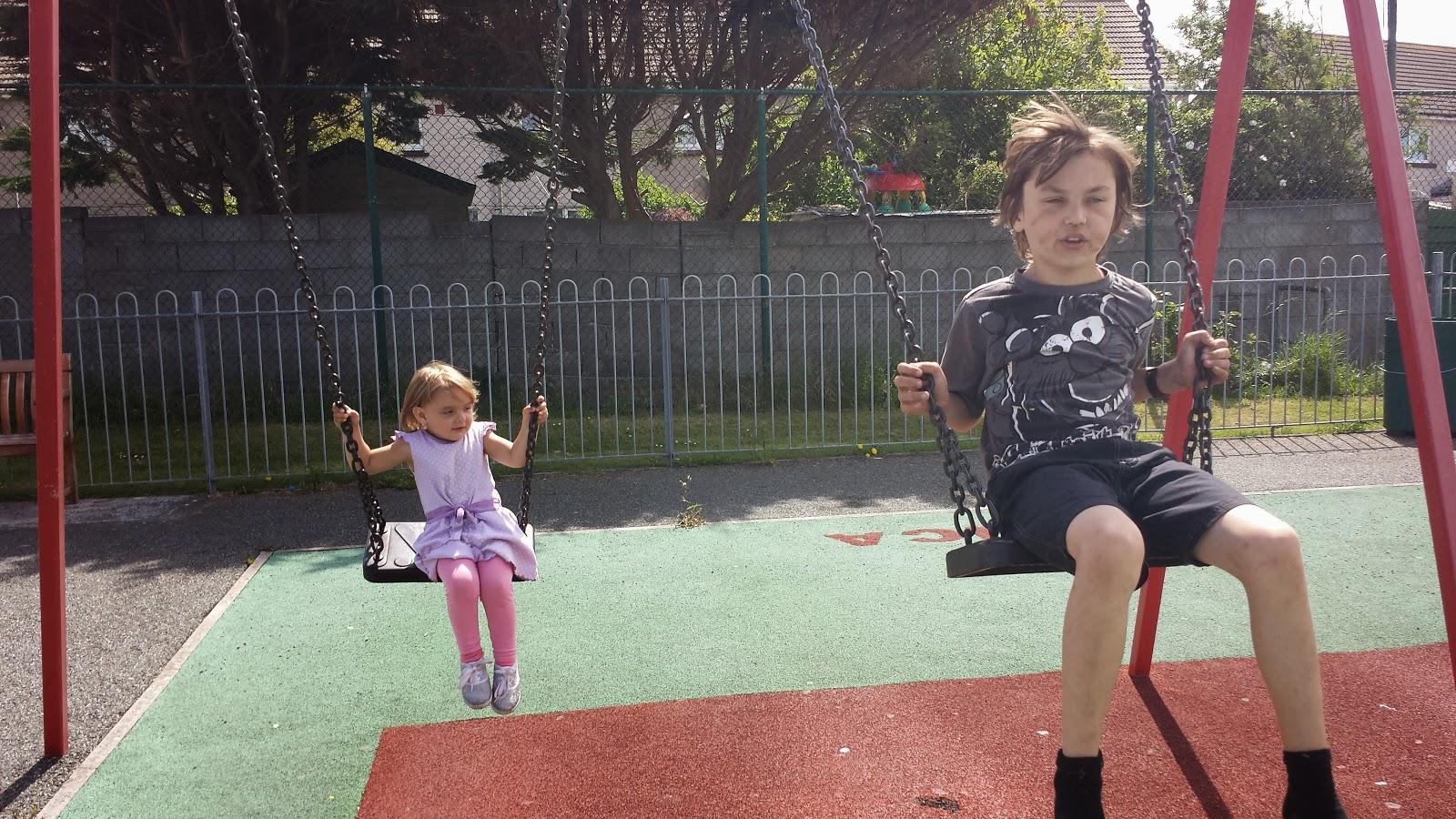 Danny isabelle swings park