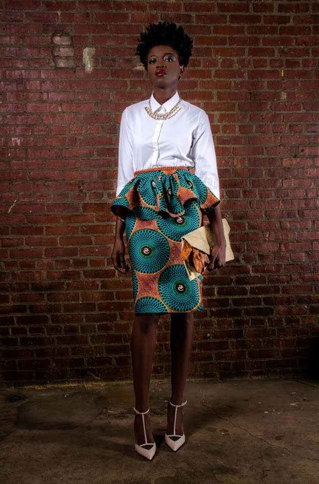 African print style skirt more on ciaafrique.com