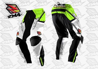 Motocross Trail Bike MTB BMX MX Enduro Cycling Jersey Custom Green Pants