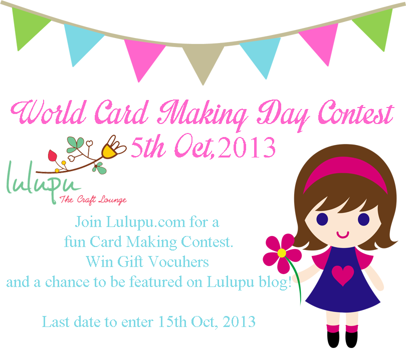World Card Making Day Contest 2013