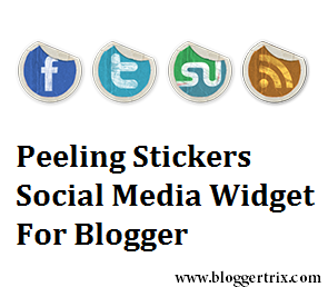 Peeling+Stickers+Social+Media+Widget+For+Blogger