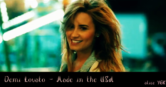 Demi Lovato - Made in the USA Lyrics