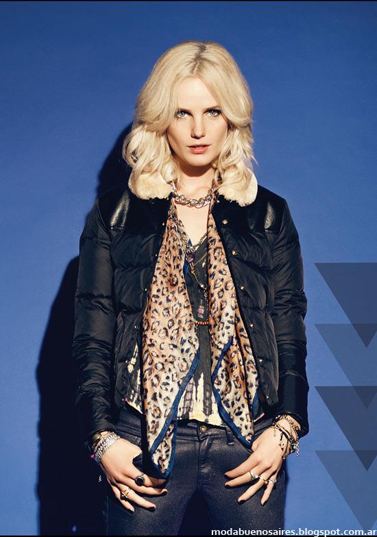 Camperas moda urbana otoño invierno 2014 Rapsodia.