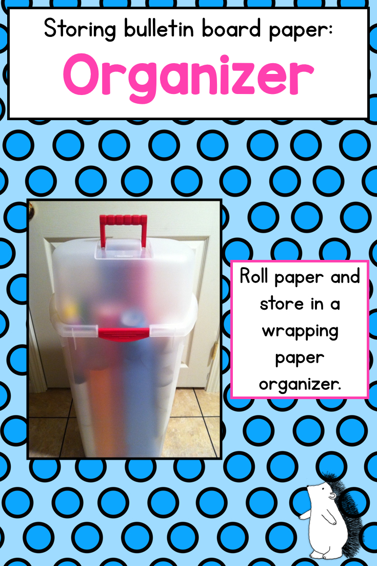 hello sunshine how to organize bulletin board supplies from a cupcake for the teacher