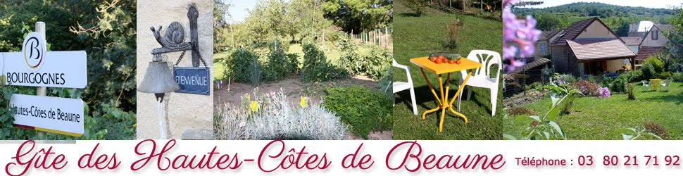 Gîte des Hautes-Côtes de Beaune