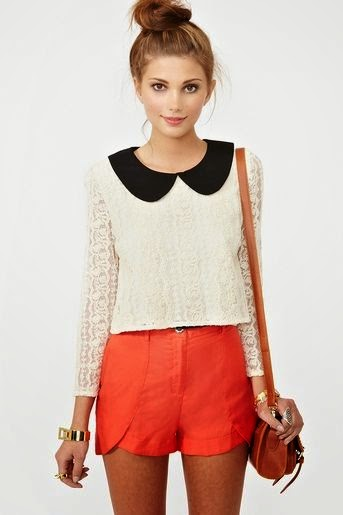 This Alexa Lace Top of #NastyGal is just too cute for words