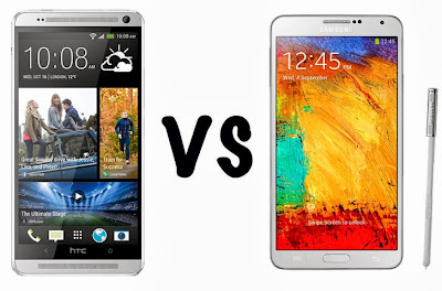 Samsung Galaxy Note3  VS HTC One Max