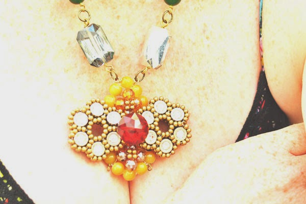 Anthropologie Necklace Beauty by SW