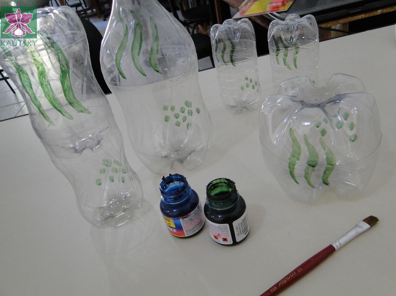 para o dia das mães Kit para banheiro feito com garrafas PET #6C4033 1500 1125