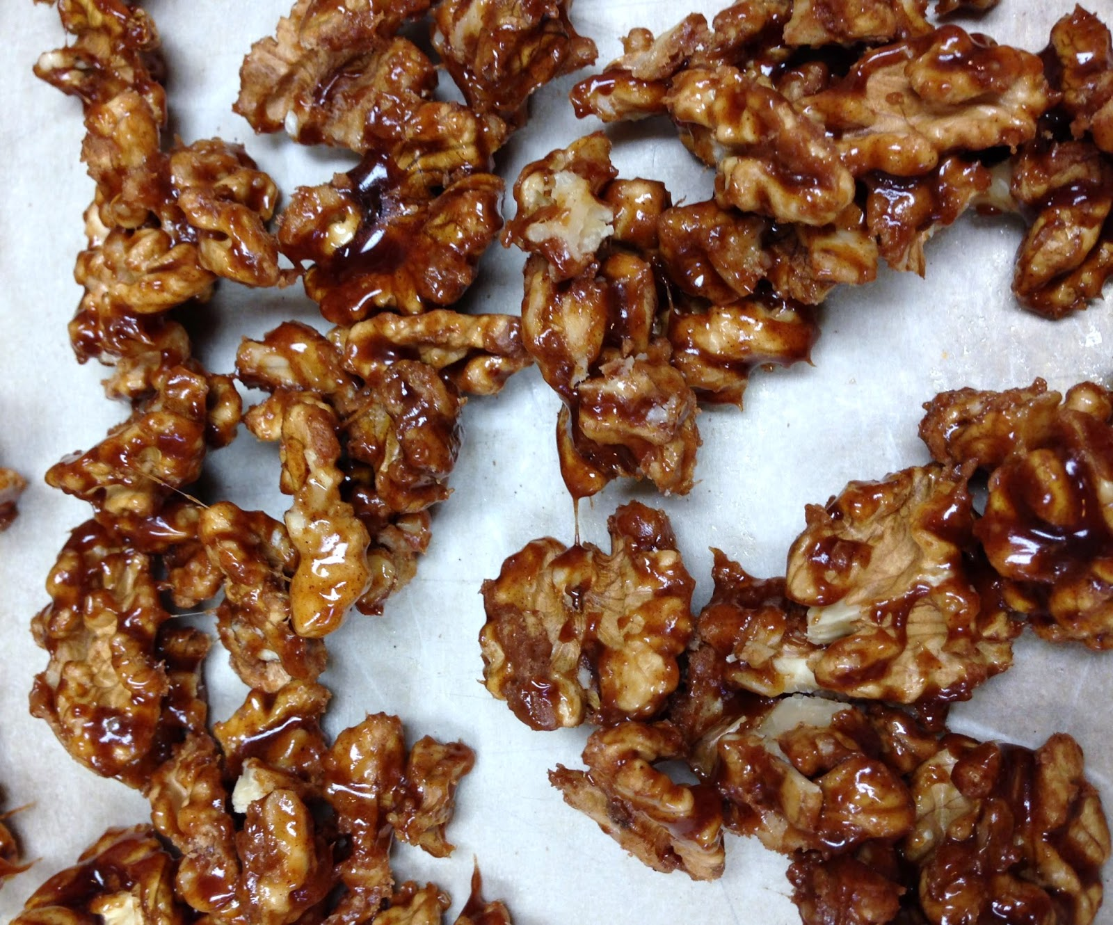 Flavors of the Umpqua: Maple-Glazed Walnuts and a Winter Salad