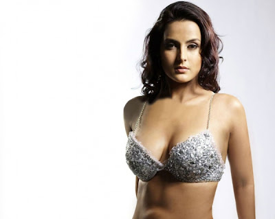 Tulip Joshi in min skirt