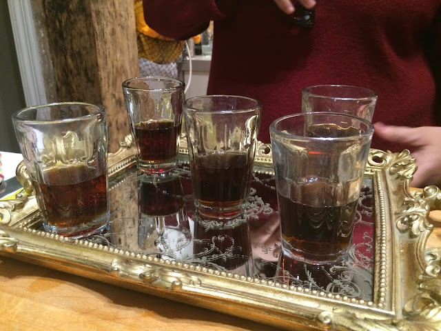 Vermut with orange bitters and soda water - San Sebastian cooking class - Basque Country