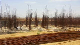 Golf Country, Yamuna Expressway :: Construction Status on July 2014 :-Tower C-5 2 BHK 1000 sq ft