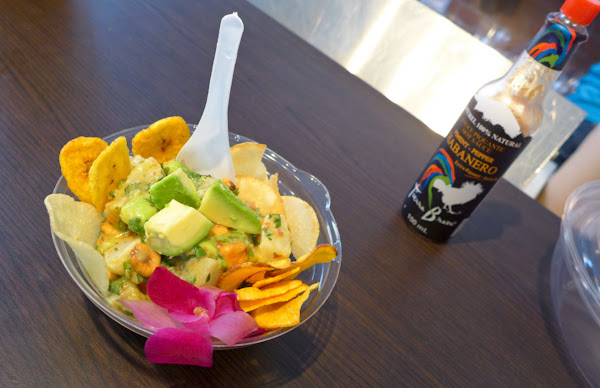 Avocado Ceviche - Peruvian Restaurant