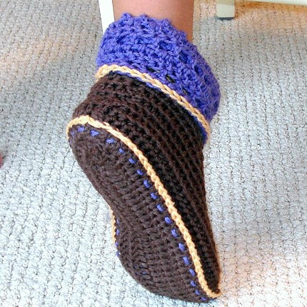 Crocheted Boots Pattern5