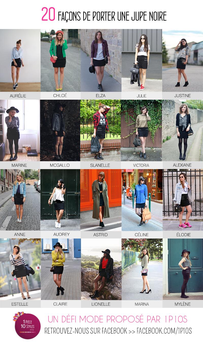 Comment porter une jupe noire ?