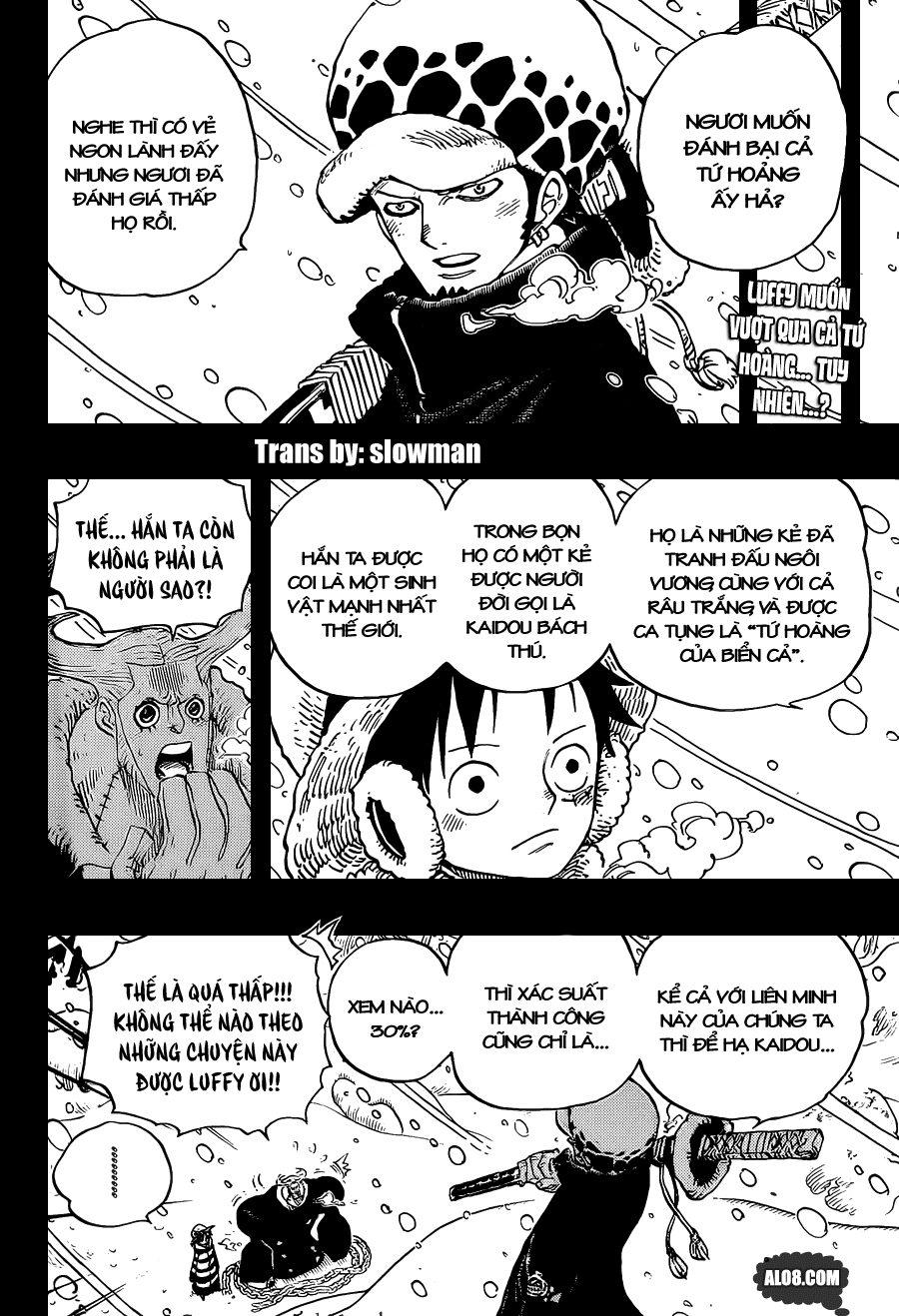 One Piece Chapter 697: Thỏa thuận 002