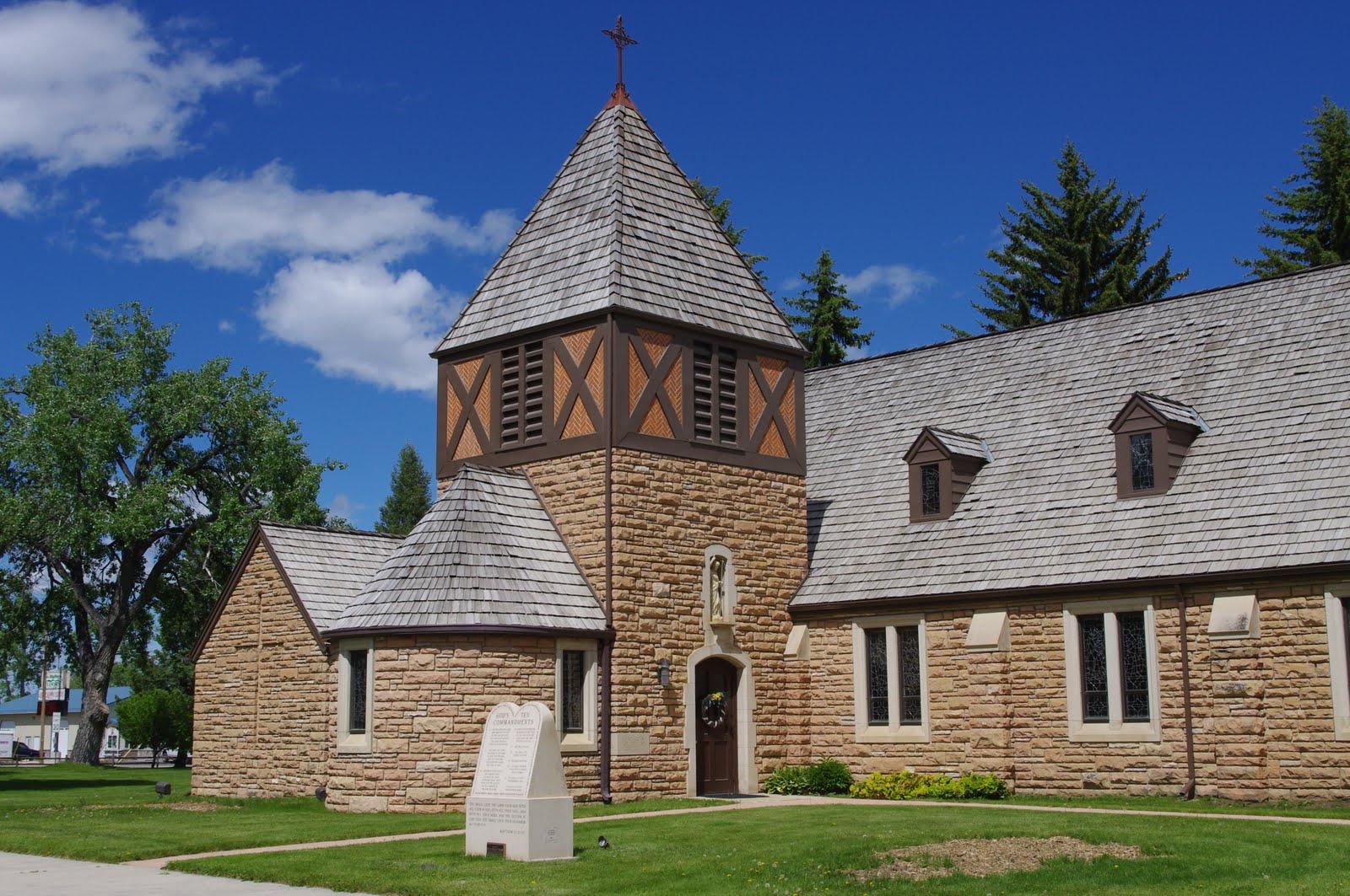 Churches Of The West St John The Baptist Roman Catholic