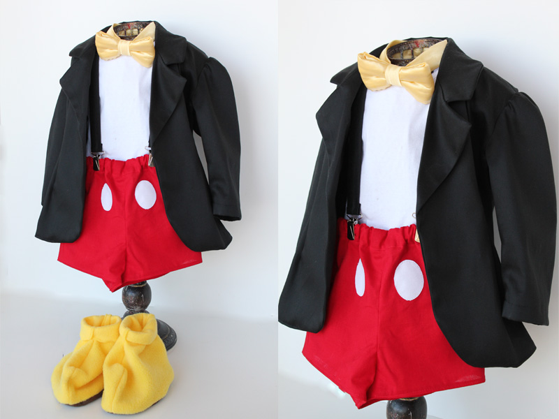 Mickey Mouse Boys Costume
