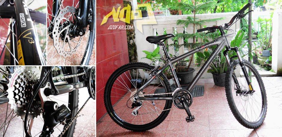 Nduk Minah, Sepeda United Dominate 24 speed punya mas ndop